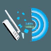 Descargar TP-LINK TL-WN722N driver. Instalar adaptador USB Wi-Fi